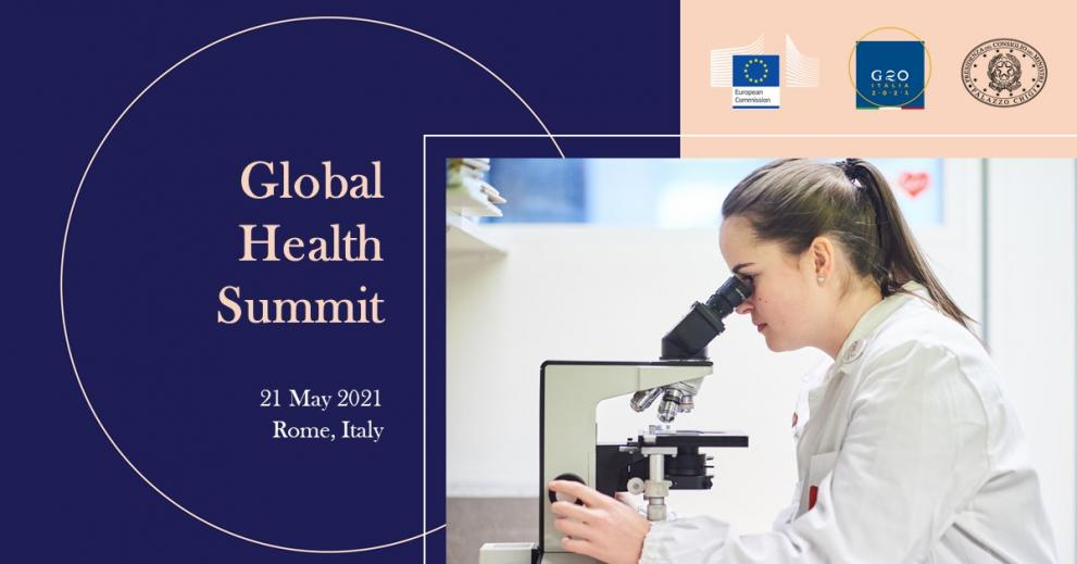 Global Health Summit Facebook cover