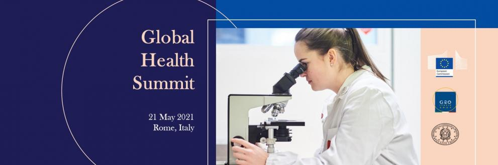 Global Health Summit Twitter cover