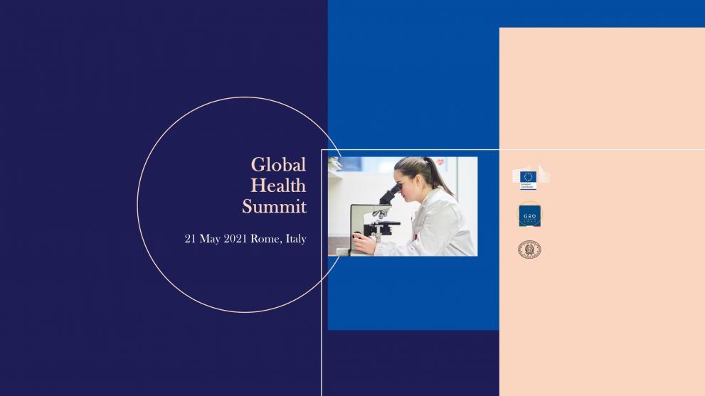 Global Health Summit YouTube cover